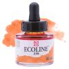 Краска акварельная жидкая Ecoline 236 Оранжевый светлый