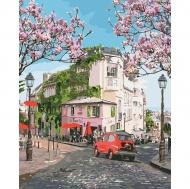 Картина по номерам Идейка 40х50см Французская путешествие (КНО3500)
