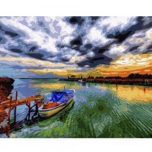 Картина по номерам BrushMe 40*50см Фантастическое небо (GX24249)