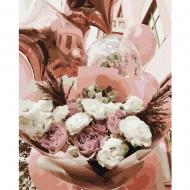 Картина по номерам BrushMe 40*50см Воздушные цветы (GX37521)