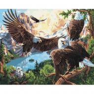 Картина по номерам BrushMe 40*50см Орлиное гнездо (GX35729)