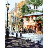Картина по номерам Идейка 40х50см Уютное кафе (КНО2150)