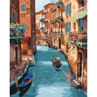 Картина по номерам Идейка 40х50см Солнечная Венеция (КНО2153)