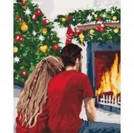 Картина по номерам Идейка 40х50см Рождественская романтика (КНО4640)