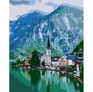 Картина по номерам Идейка 40х50см Уютный городок (КНО2279)