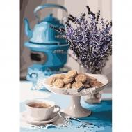 Картина по номерам Идейка 35х50см Лавандовое чаепитие (КНО5558)