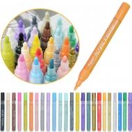 Набор акриловых маркеров универсальных FlySea 0,7 мм 24 цветов