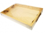 Поднос деревянный, 23х34х4см