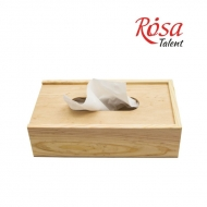 Салфетница деревянная 24х14х7см