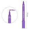 Маркер акриловый универсальный FlySea 2-3 мм (18) Фиолетовый темный