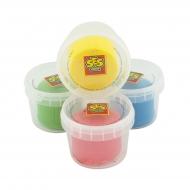 Набор массы для лепки незасихающей SES Creative NEW Классик (4 цв, в пласт. баночках) (0465S)