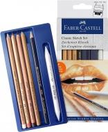 Набор для скетчей Faber-Castell SKETCH SET CLASSIC 6 предметов (27305)