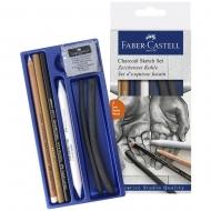 Набор для скетчей Faber-Castell SKETCH SET DRAWING 7предметов (27304)