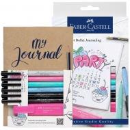 Набор ручек Faber-Castel РІТТ 9 предметов +скетчбук (29104)