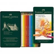 Набор карандашей Faber-Castell POLYCHROMOS 12 цв .метал. пенал (15440)