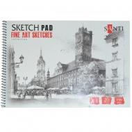Альбом для графики Santi Fine art sketches А4 190 г/м2 20 л. (742620)