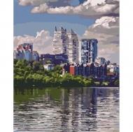Картина по номерам Идейка 40х50см Любимый город (КНО2186)