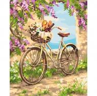 Картина по номерам Идейка 40х50см Деревенское утро (КНО2207)
