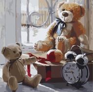 Картина по номерам Идейка 30х30см Игрушки детства 2 (КНО2333)