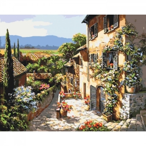 Картина по номерам Идейка 40х50см Пейзажи Тосканы (КНО2232)
