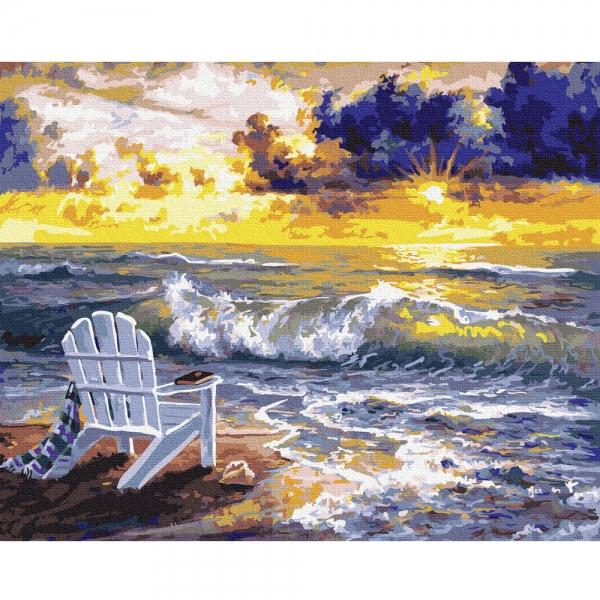 Картина по номерам BrushMe 40*50см Место с видом на море (GX36236)