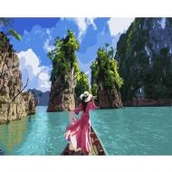 Картина по номерам BrushMe 40*50см Прогулка на лодке (GX36108)
