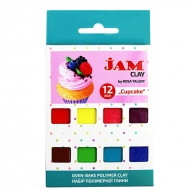 Набор пластики Jam Clay 12х20г Cup cake (5059010)