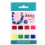 Набор пластики Jam Clay 12х20г Dream (5059012)