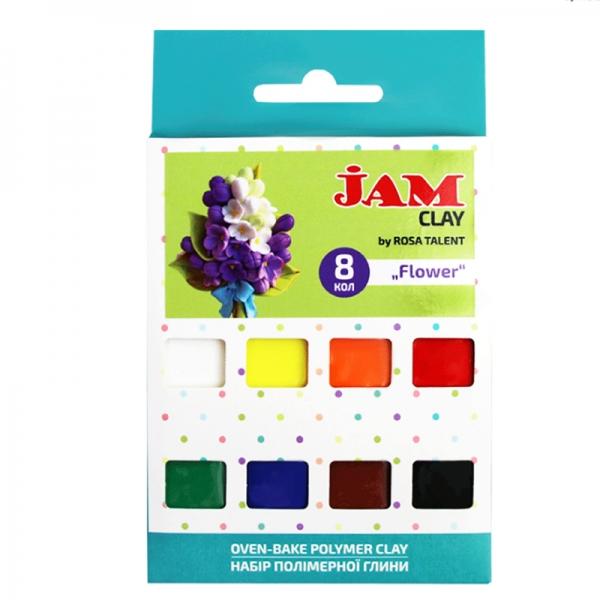 Набор пластики Jam Clay 8х20г Flower (5059007)
