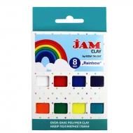 Набор пластики Jam Clay 8х20г Rainbow (5059006)