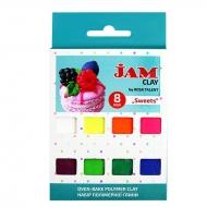 Набор пластики Jam Clay 8х20г Sweets (5059008)