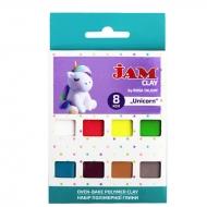 Набор пластики Jam Clay 8х20г Unicorn (5059009)
