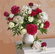 Картина по номерам Идейка 40х40см Цветы вдохновения (КНО3112)