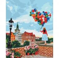 Картина по номерам Идейка 40х50см Гуляя по Праге (КНО3518)