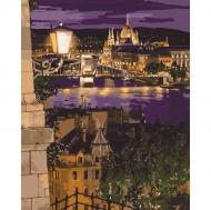 Картина по номерам Идейка 40х50см Магические краски Будапешта (КНО3534)