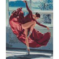 Картина по номерам Идейка 40х50см Танец огня (КНО4512)