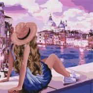 Картина по номерам Идейка 40х40см Розовые мечты 3 (КНО4742)