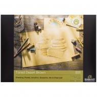 Склейка для пастели Rembrandt A4 180г/м2 50 л. Toned Desert Brown Royal Talens (93080012)