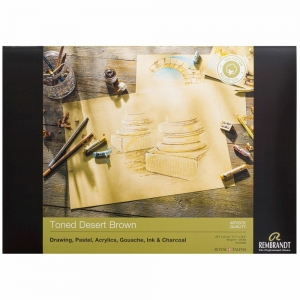 Склейка для пастели Rembrandt A3 180г/м2 50 л. Toned Desert Brown Royal Talens (93080011)