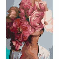 Набор картина по номерам SANTI 40*50 Цветущая красота (953855)