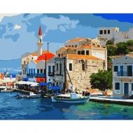 Набор картина по номерам SANTI 40*50 Тихая гавань (953840)
