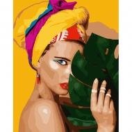 Набор картина по номерам SANTI 40*50 Тропиканка (953850)