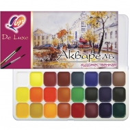 Набор акварельных красок Луч Люкс медовые 24 цв. (110138)