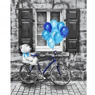 Картина по номерам BrushMe 40*50см Синий праздник (GX29752)