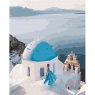 Картина по номерам BrushMe 40*50см На крыше Греции (GX34800)