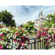 Картина по номерам BrushMe 40*50см Амстердам (GX21698)