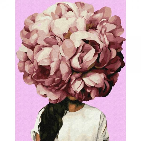 Картина по номерам BrushMe 40*50см Цветочное головокружение (PGX36700)