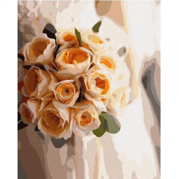 Картина по номерам BrushMe 40*50см Букет невесты (GX37531)