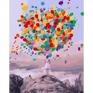 Картина по номерам BrushMe 40*50см Буйство шаров (GX27954)