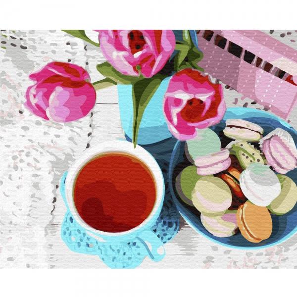 Картина по номерам BrushMe 40*50см Весенний завтрак (GX33048)